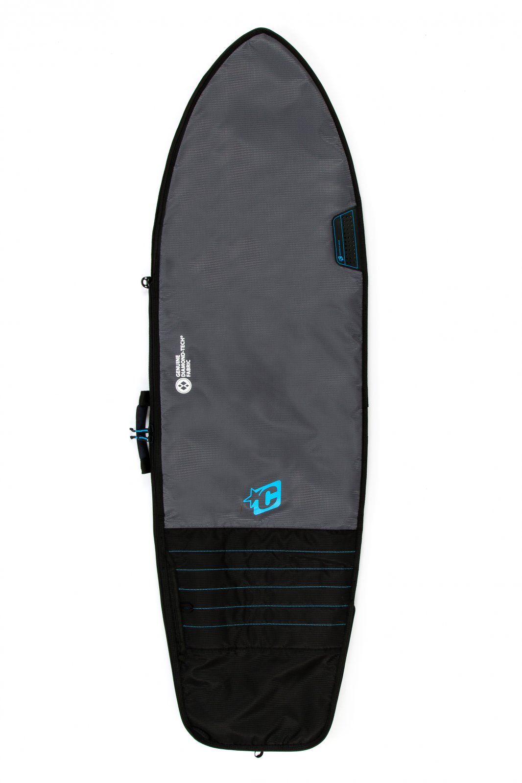 Creatures of Leisure Fish Day Use Bag '19 Charcoal Cyan