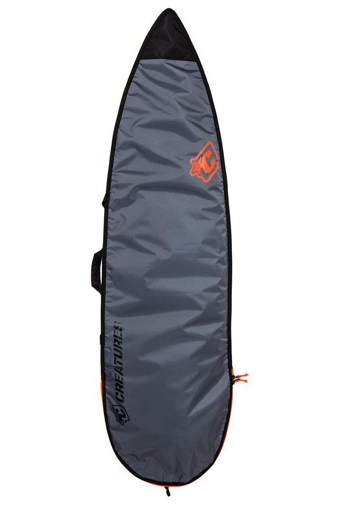 Creatures of Leisure Shortboard Lite Bag Black Grey