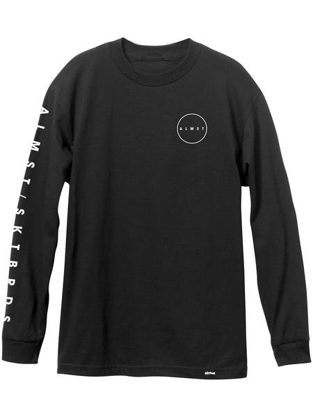 Almost Cryptic Tee Black