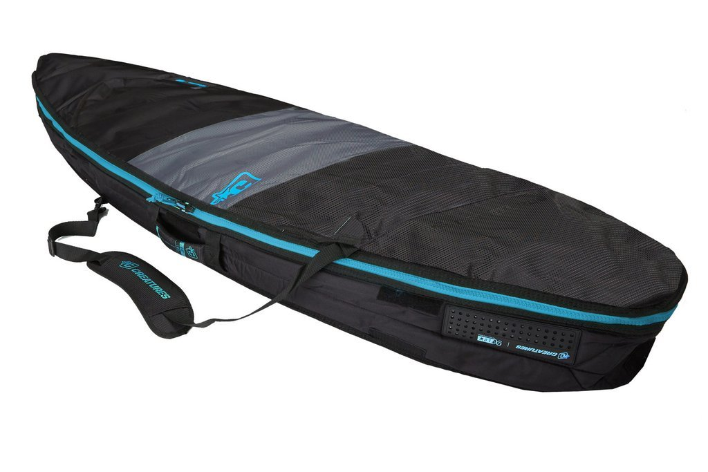 Creatures of Leisure Shortboard Day Use Bag Charcoal Cyan