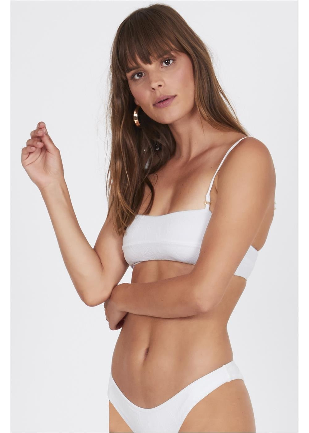 Amuse Society Allie Bralette White
