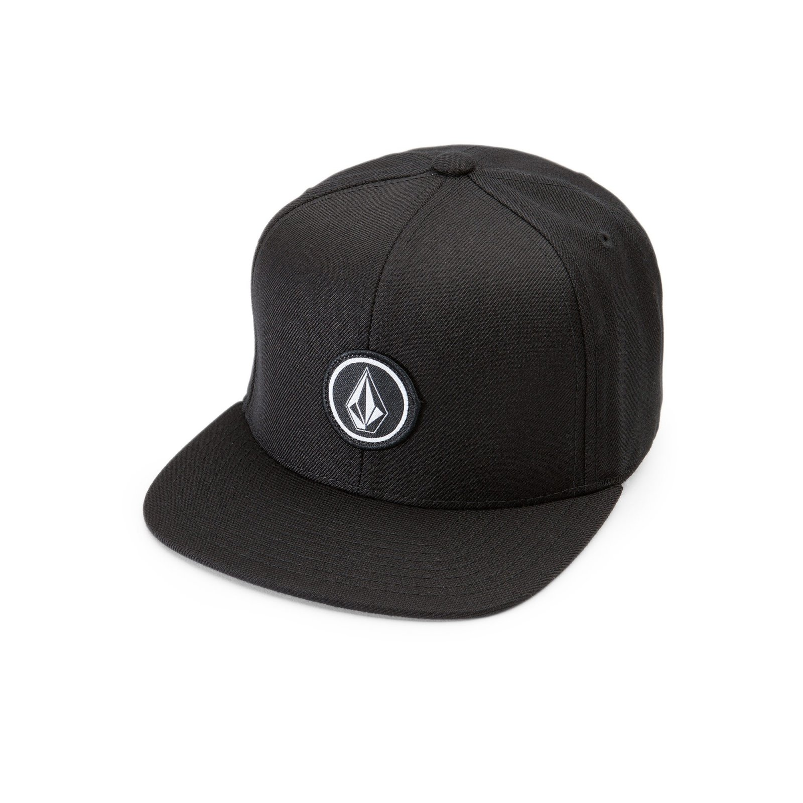 Volcom Boys Quarter Twill Snapback Hat - 886608345374 8a11a570b5c6