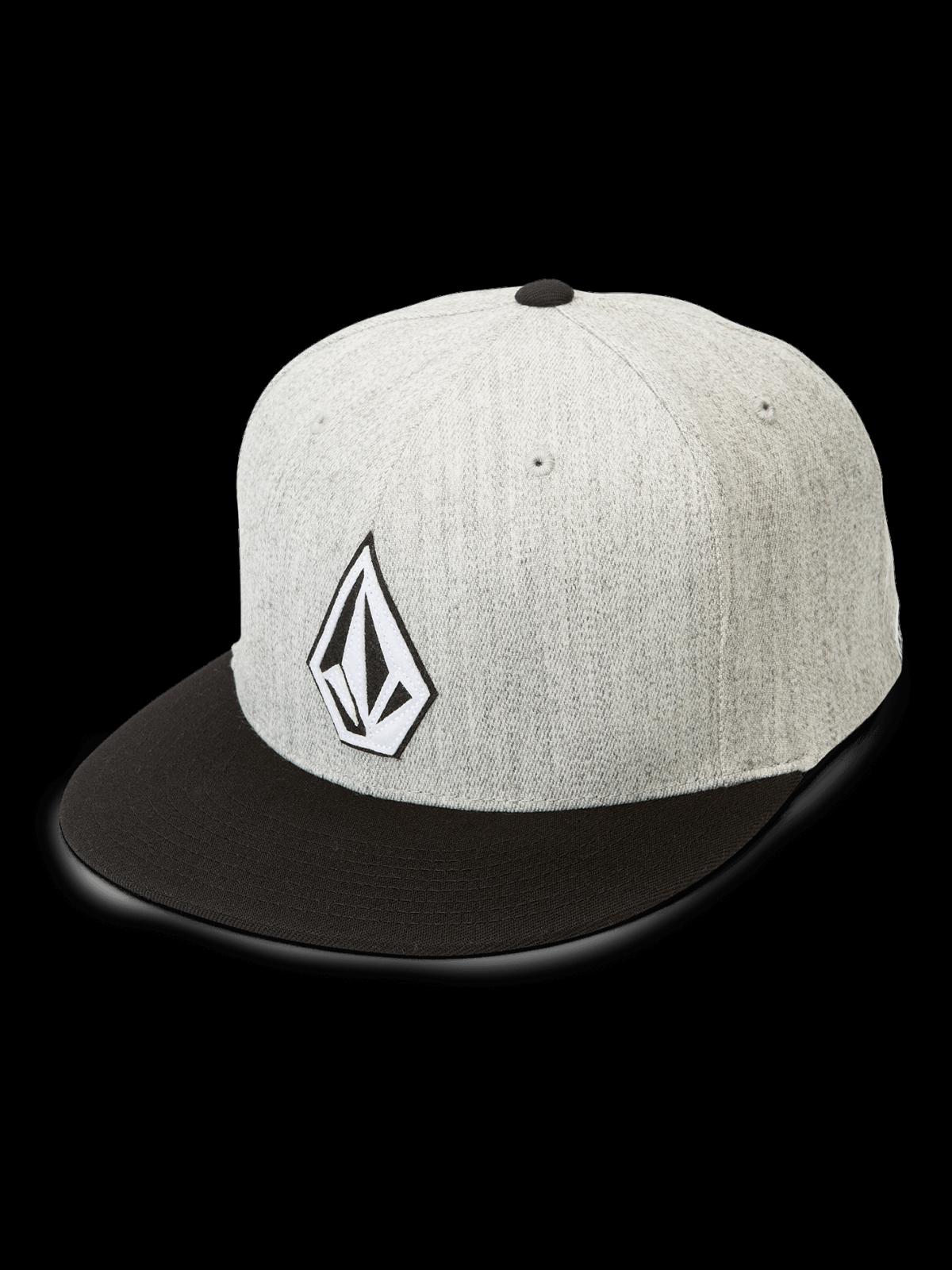 Volcom Stone Stack J-Fit Hat Heather Grey