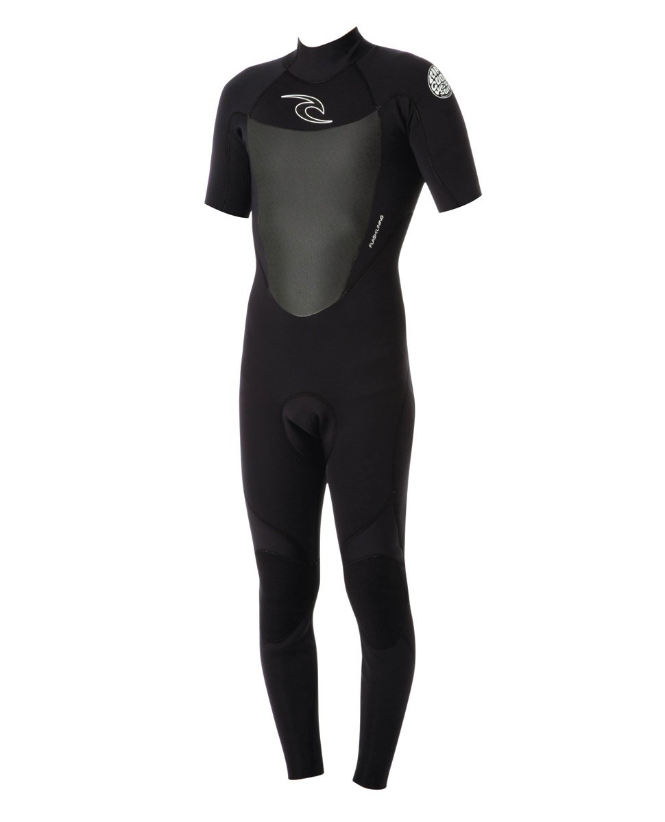 Rip Curl Dawn Patrol 2mm Back Zip SS Fullsuit Black