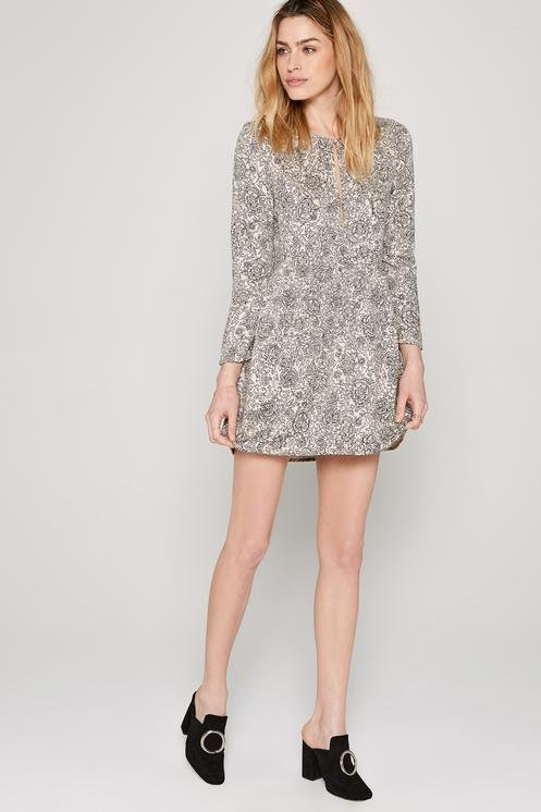 Amuse Society Katalina Dress Grey Mist