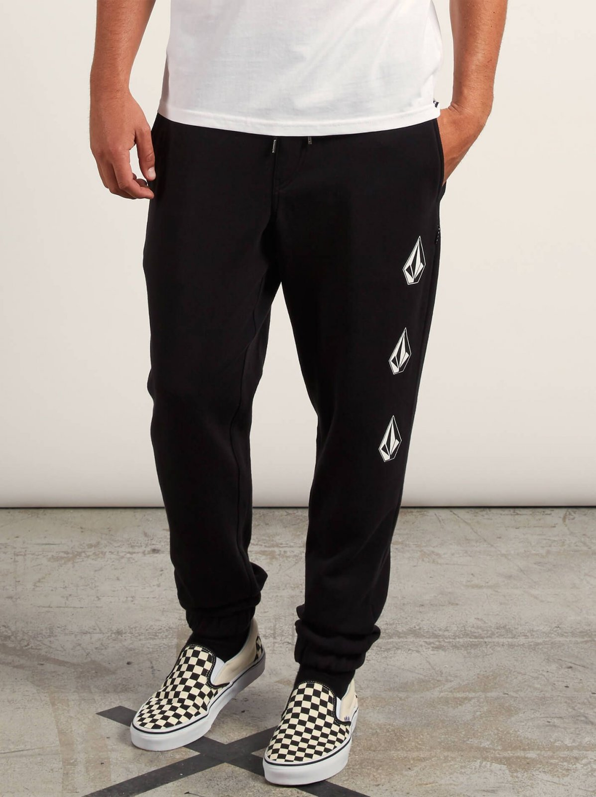 Volcom Boys (2-7) Deadly Stone Fleece Pants Black