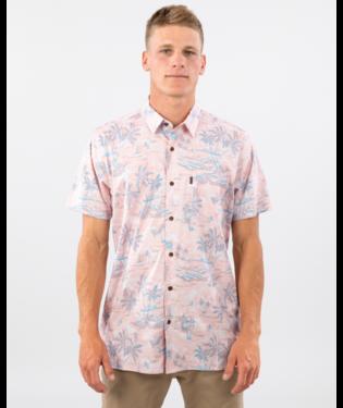 Rip Curl Island Fever Shortsleeve Shirt Salmon