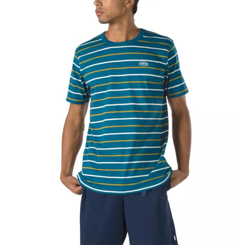 Vans Color Multiplier Shortsleeve Knit Moroccan Blue