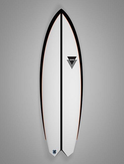 TOMO LFT El Tomo Fish Surfboard (Special Order)