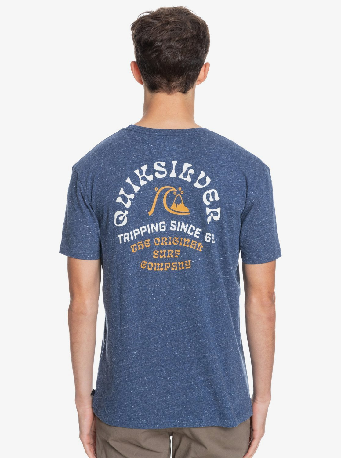 Quiksilver Foreign Tides Tee Sargasso Sea Heather