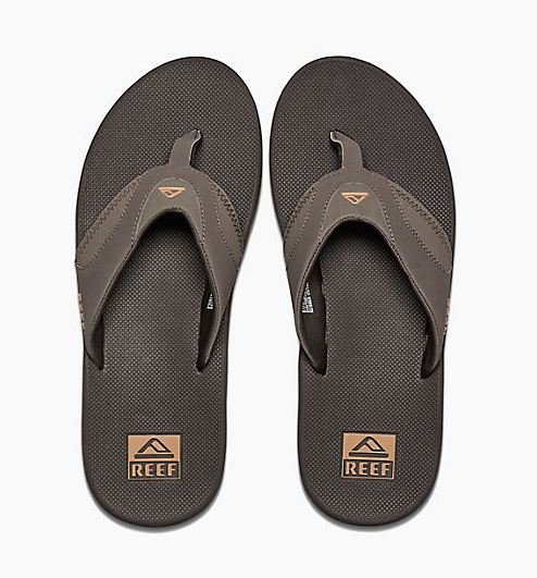 Reef Fanning Sandal Brown/Gum