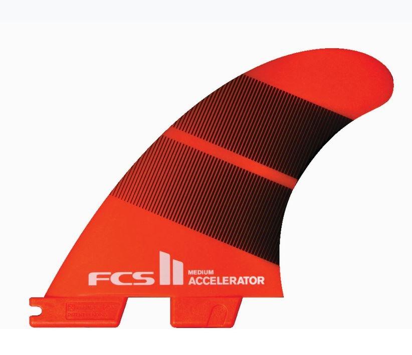 FCS II Accelerator Neo Glass Tri Fin Set