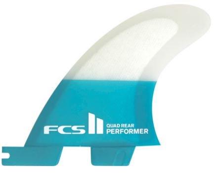 FCS II Performer PC Quad Rears Fin Set
