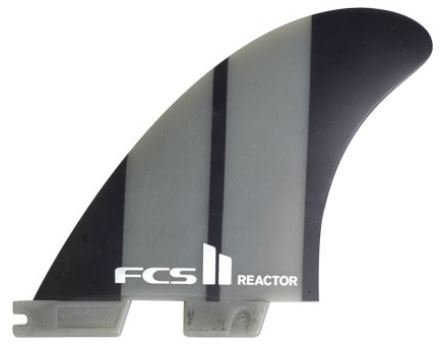 FCS II Reactor Neo Glass Tri Fin Set