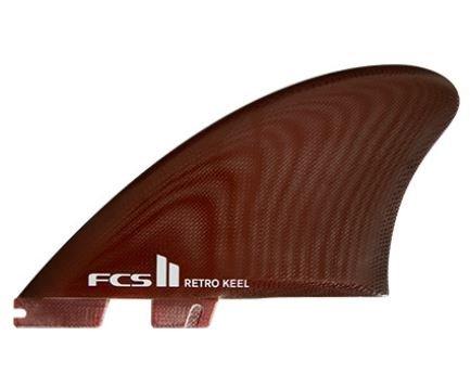 FCS II Retro Keel PG Twin Fins