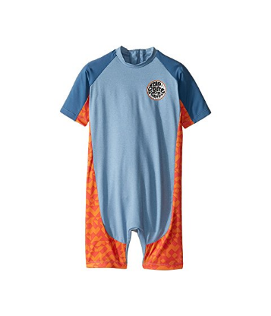 Rip Curl Toddler Aggrolite S/S UV Spring Suit Blue