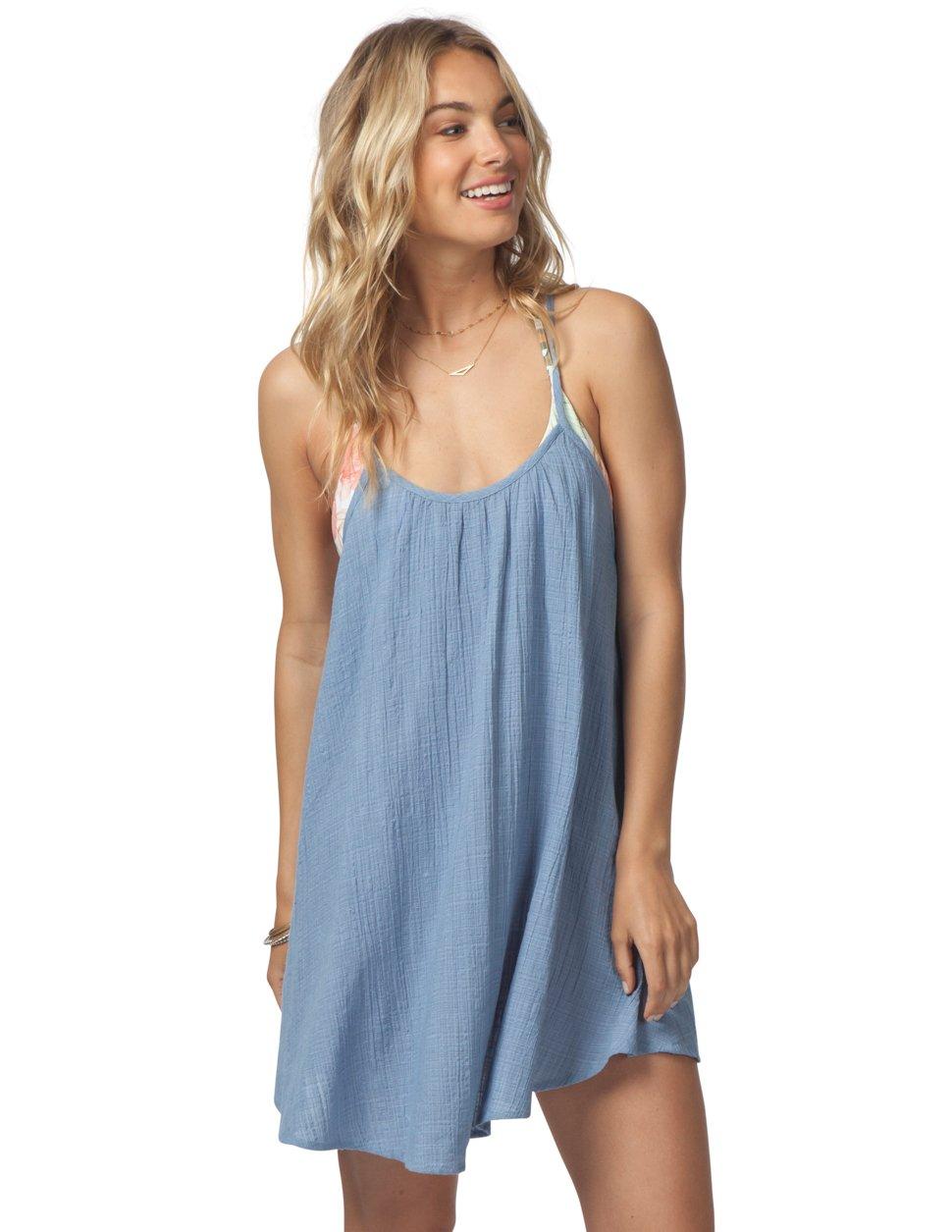 Rip Curl Surf Essentials Cover Up Dress Blue 1bdd581bb