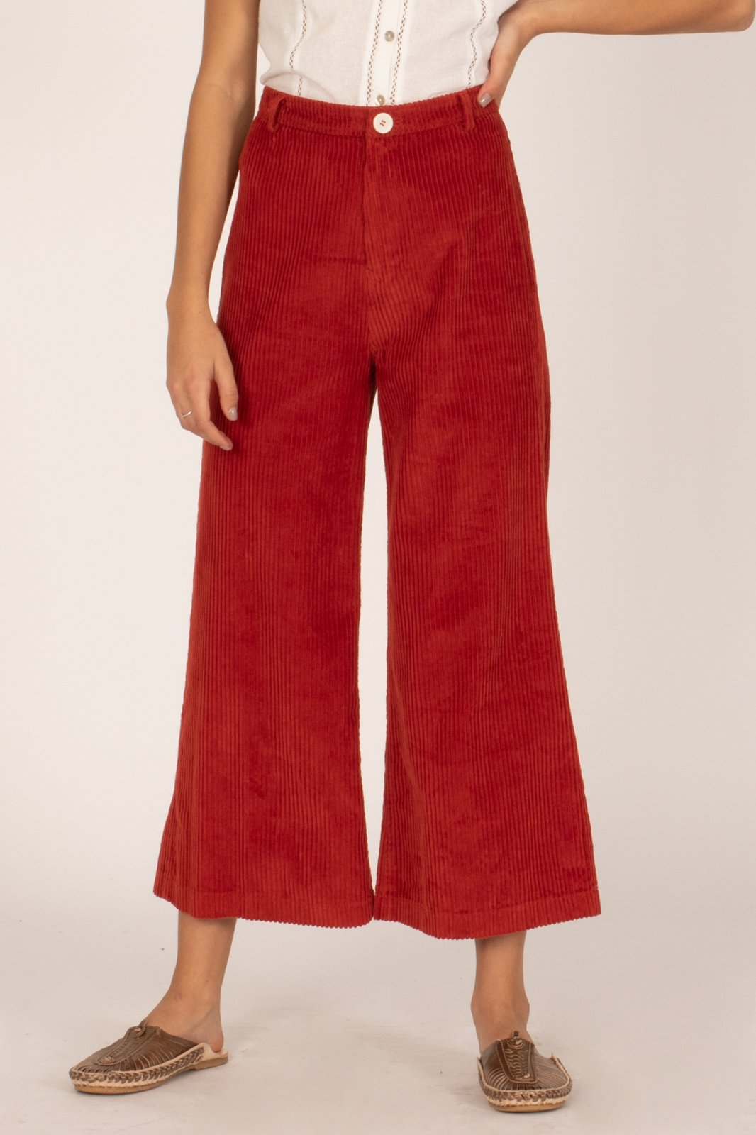 Amuse Society Good Company Wide Leg Pant Rouge