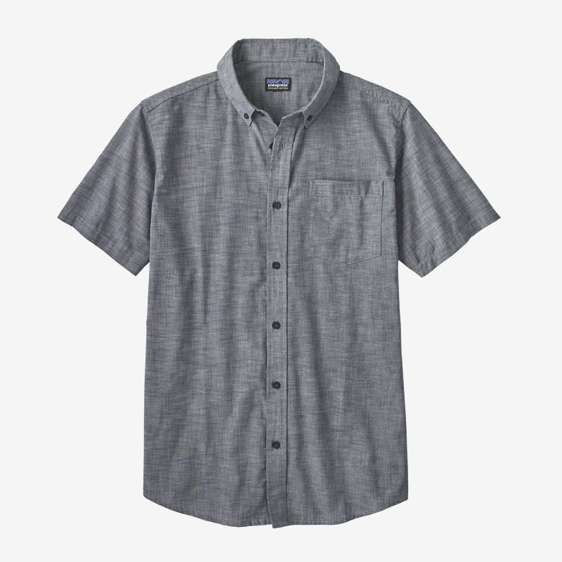 Patagonia Lightweight Bluffside Shirt Chambray: Classic Navy