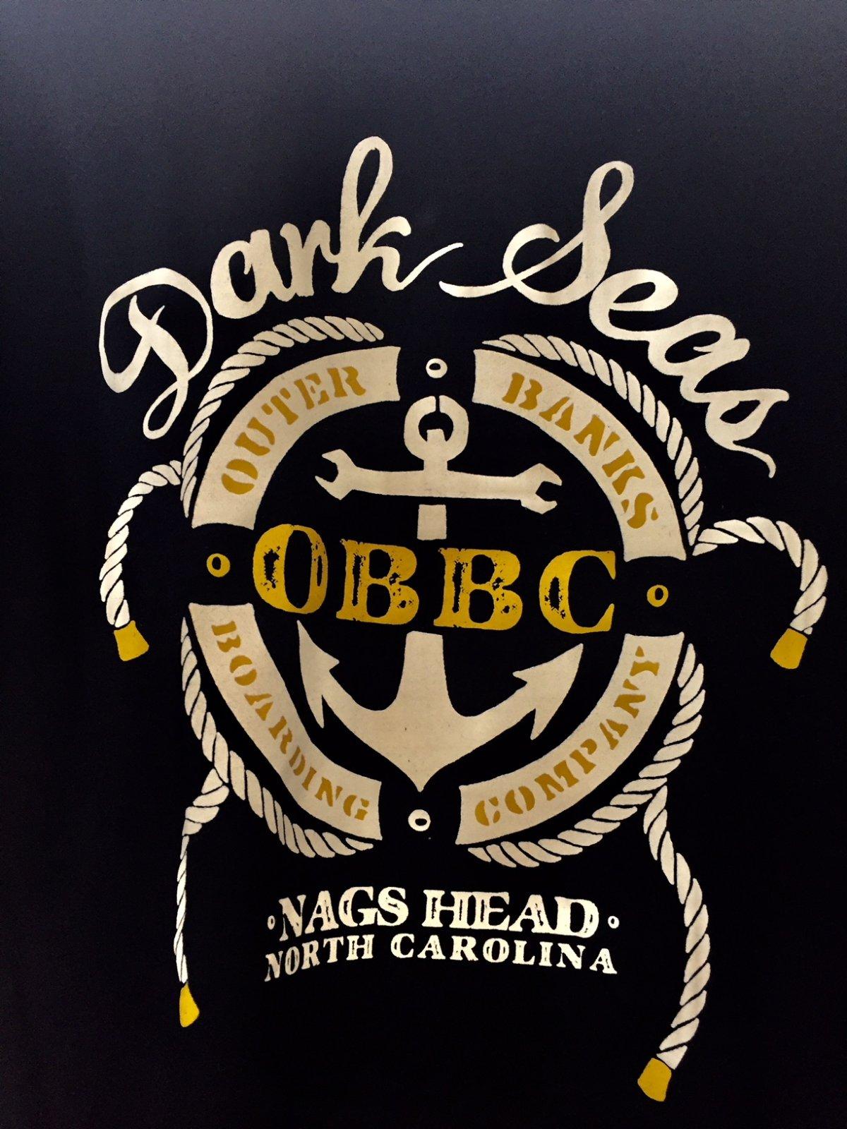 Dark Seas x OBBC S&R Premium Tee Black