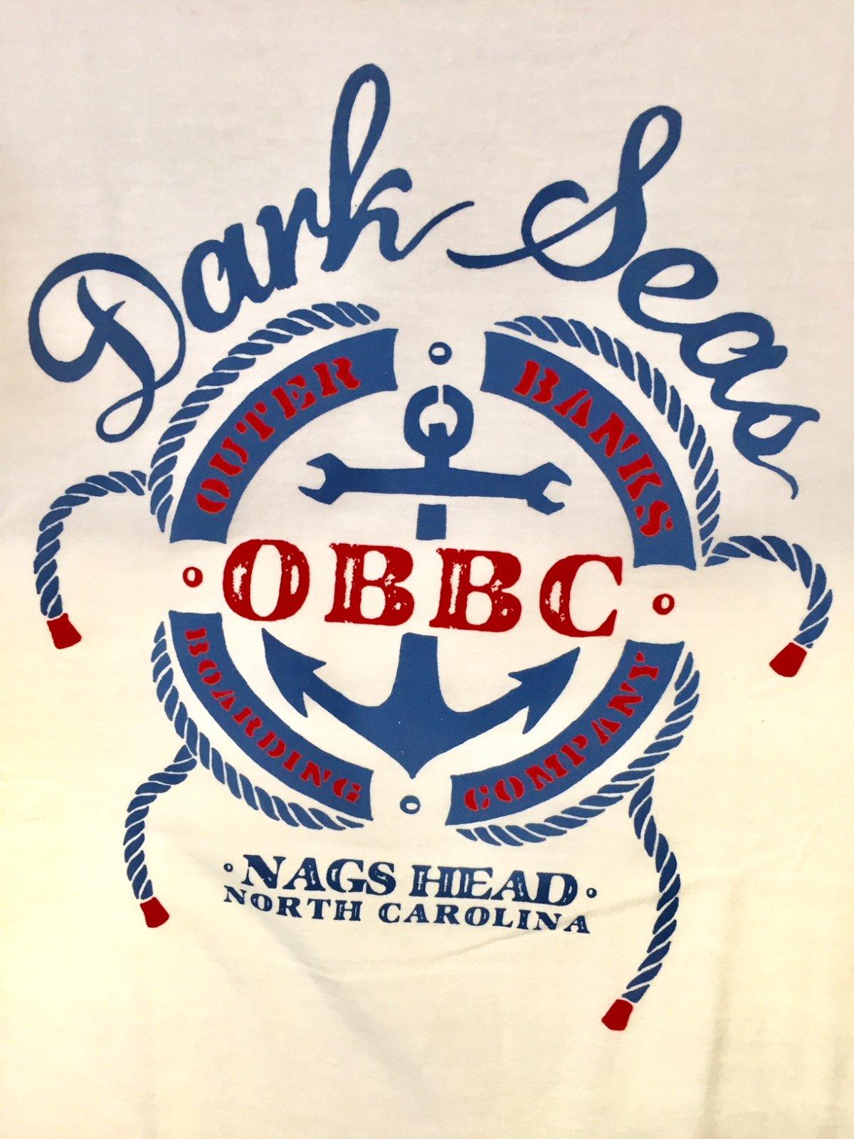 Dark Seas x OBBC S&R Premium Tee White