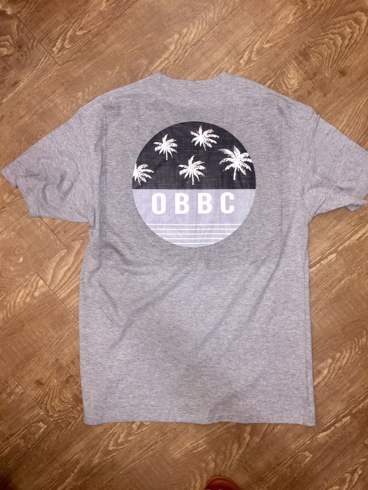OBBC Bluetide Tee Heather Grey