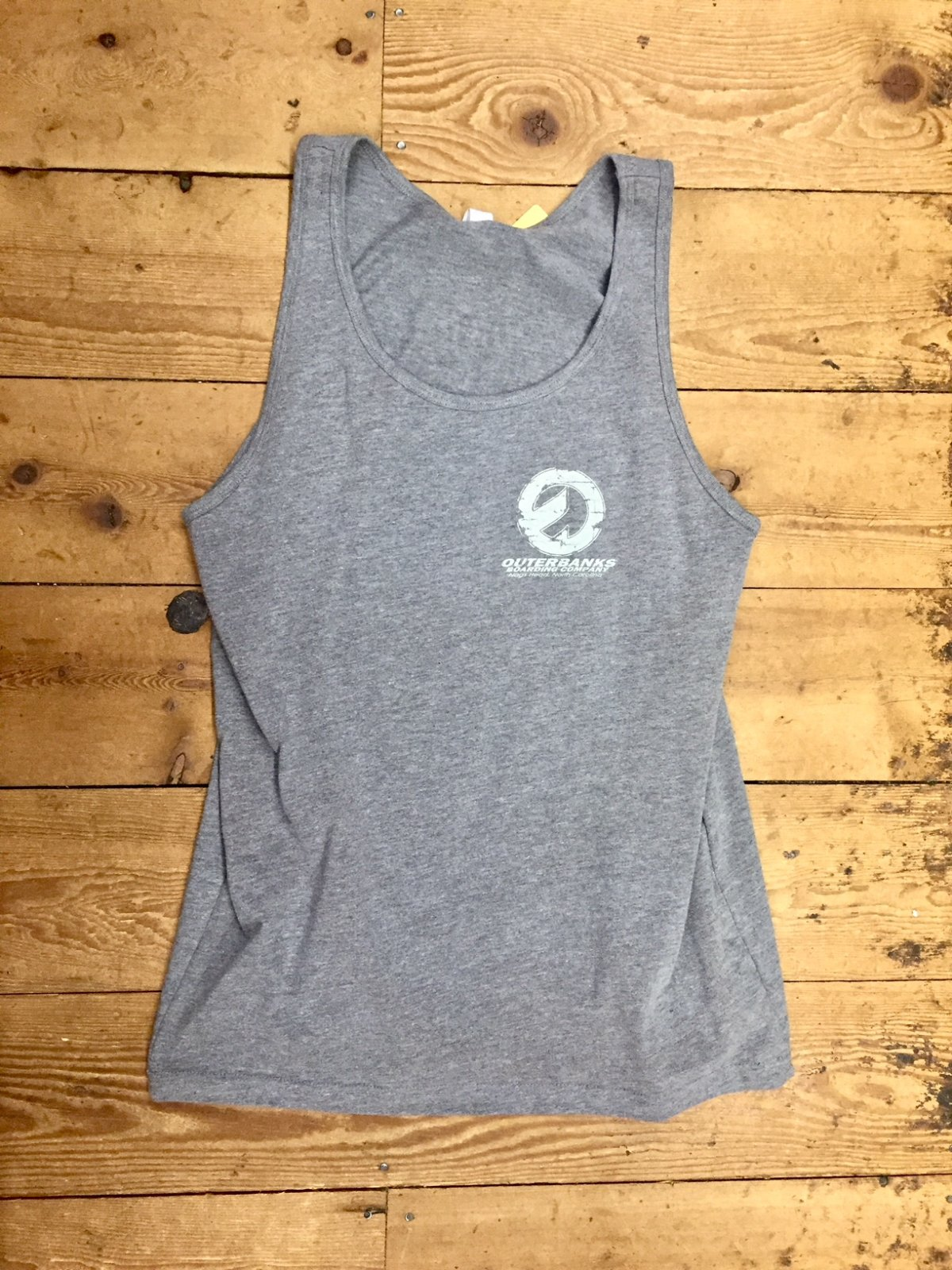 OBBC Mens Decker Tank Deep Heather