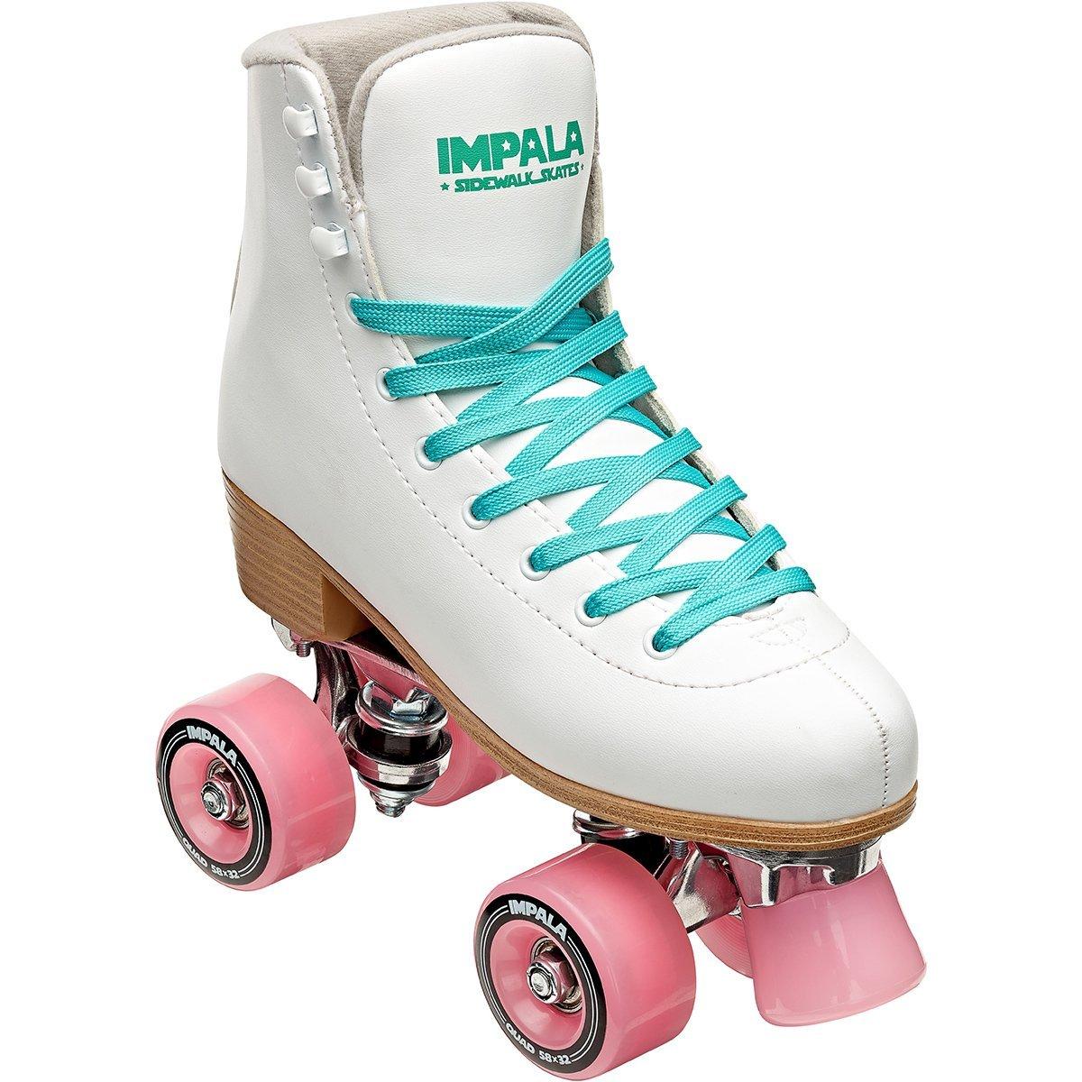 Impala Quad Roller Skates White