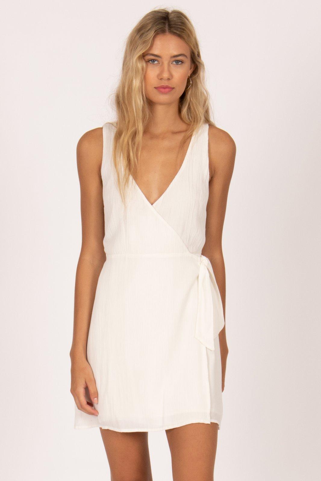 Amuse Society Jet Lag Mini Dress Casa Blanca