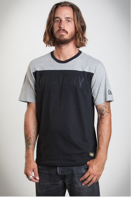 Loser Machine Lightning SS Knit Grey/Black