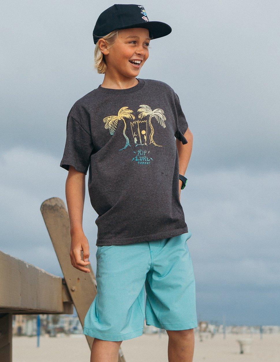Rip Curl Boys Mirage Phase Boardwalk Aqua