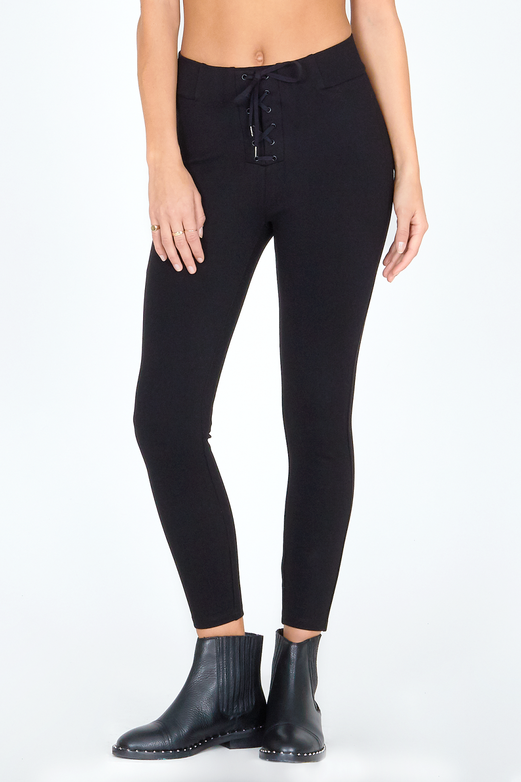 Amuse Society Middle Of The Road Pant Black Sands