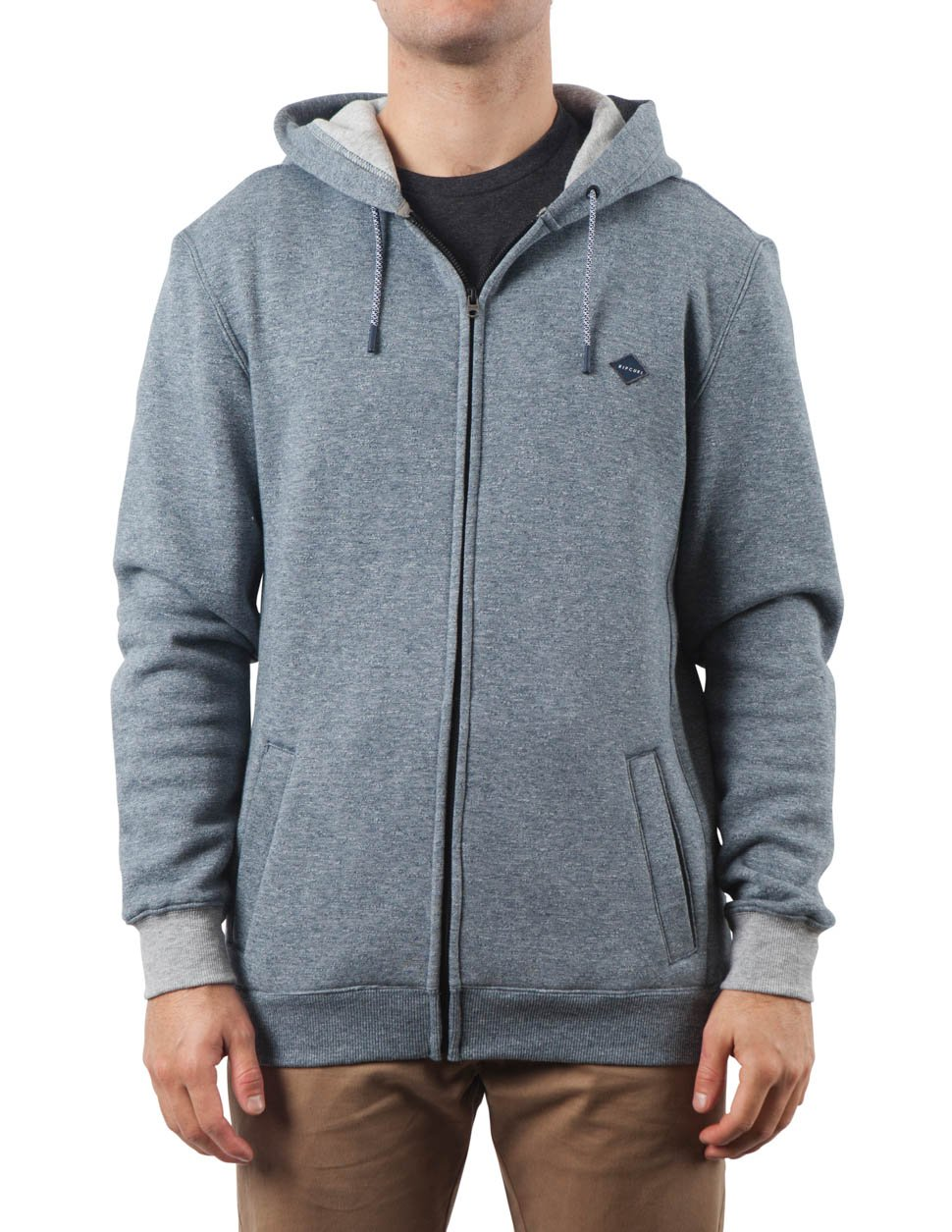 Rip Curl Boys Destination Zip-Up Fleece Navy