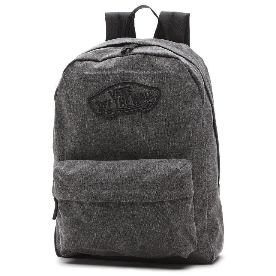 178502a27 Vans Realm Backpack Washed Black - 888655515519