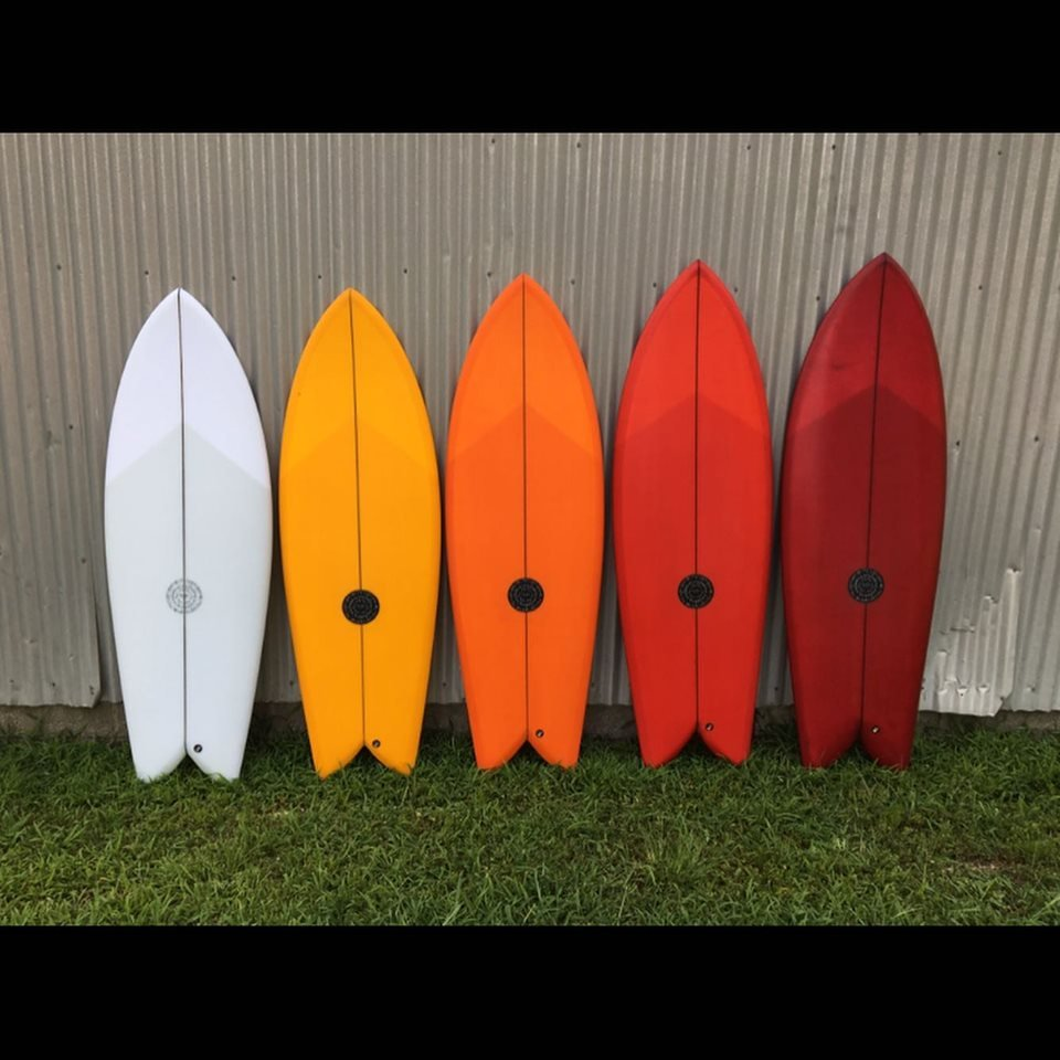 Brother Pro Fish Surfboard Tinted Epoxy