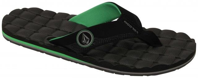 Volcom Recliner Big Youth Sandal Poison Green