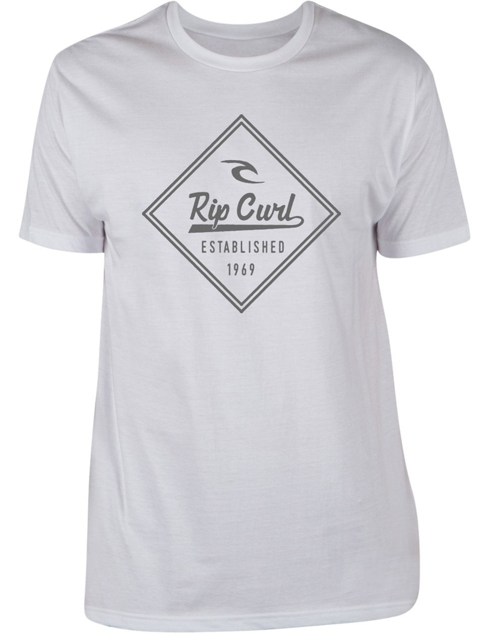 Rip Curl Boys Refraction Heather Tee White