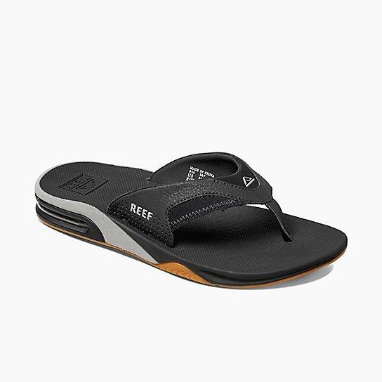 Reef Fanning Sandal Black/Silver 2