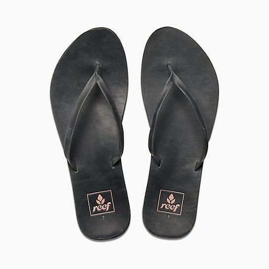 Reef Cushion Bounce Slim Sandal Black