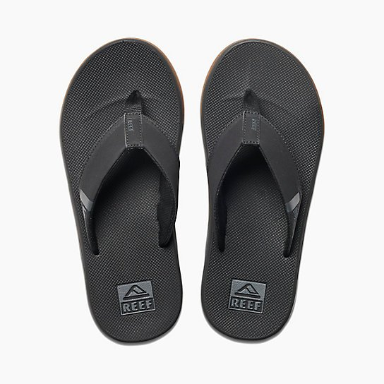 Reef Fanning Low Sandal Black