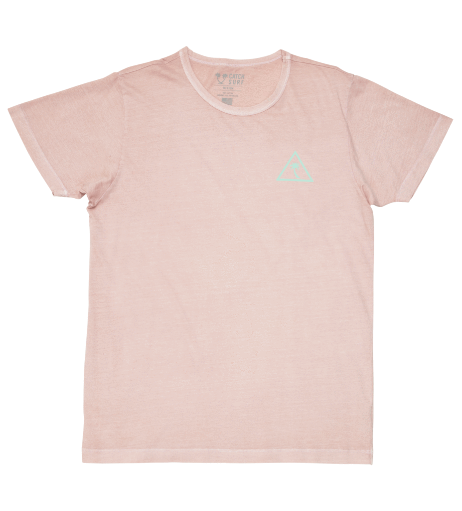 Catch Surf Team II SS Tee Tea Rose
