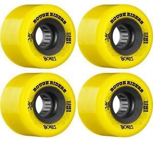 Bones Rough Riders 59mm Wheel Set Yellow