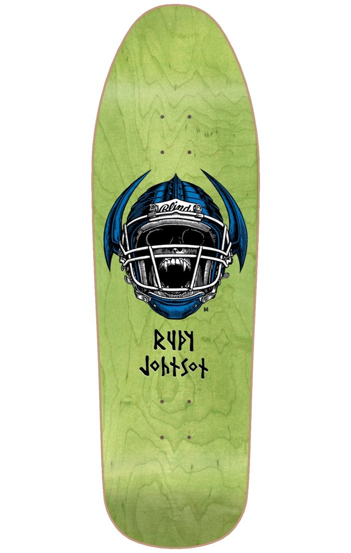 Blind Johnson Jock Skull Reissue Deck Heat Transfer