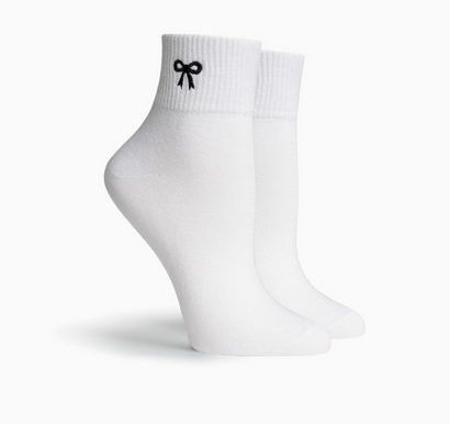 Richer Poorer Bow Ankle Sock