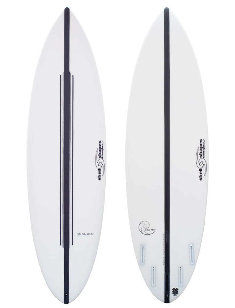 Shell Shapes & Designs Salsa Rojo Surfboard (Gen 3)