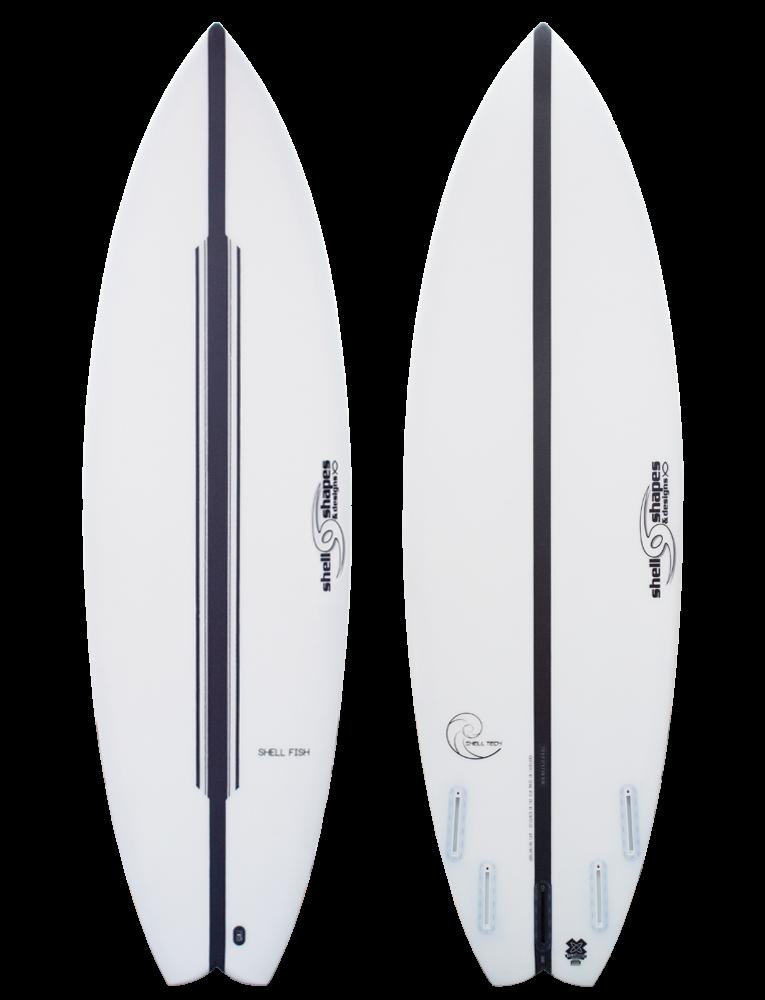 Shell Shapes & Designs Shell Fish Surfboard