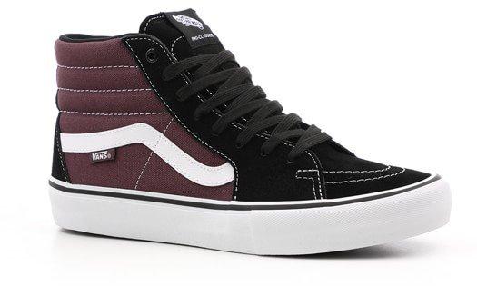 Vans Sk8-Hi Pro Shoe (Camo) Black White 59c8cdab7