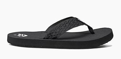 Reef Smoothy Sandal Black