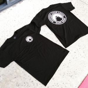 Building the Revolution Support Your Local Surf Shop Tee Black