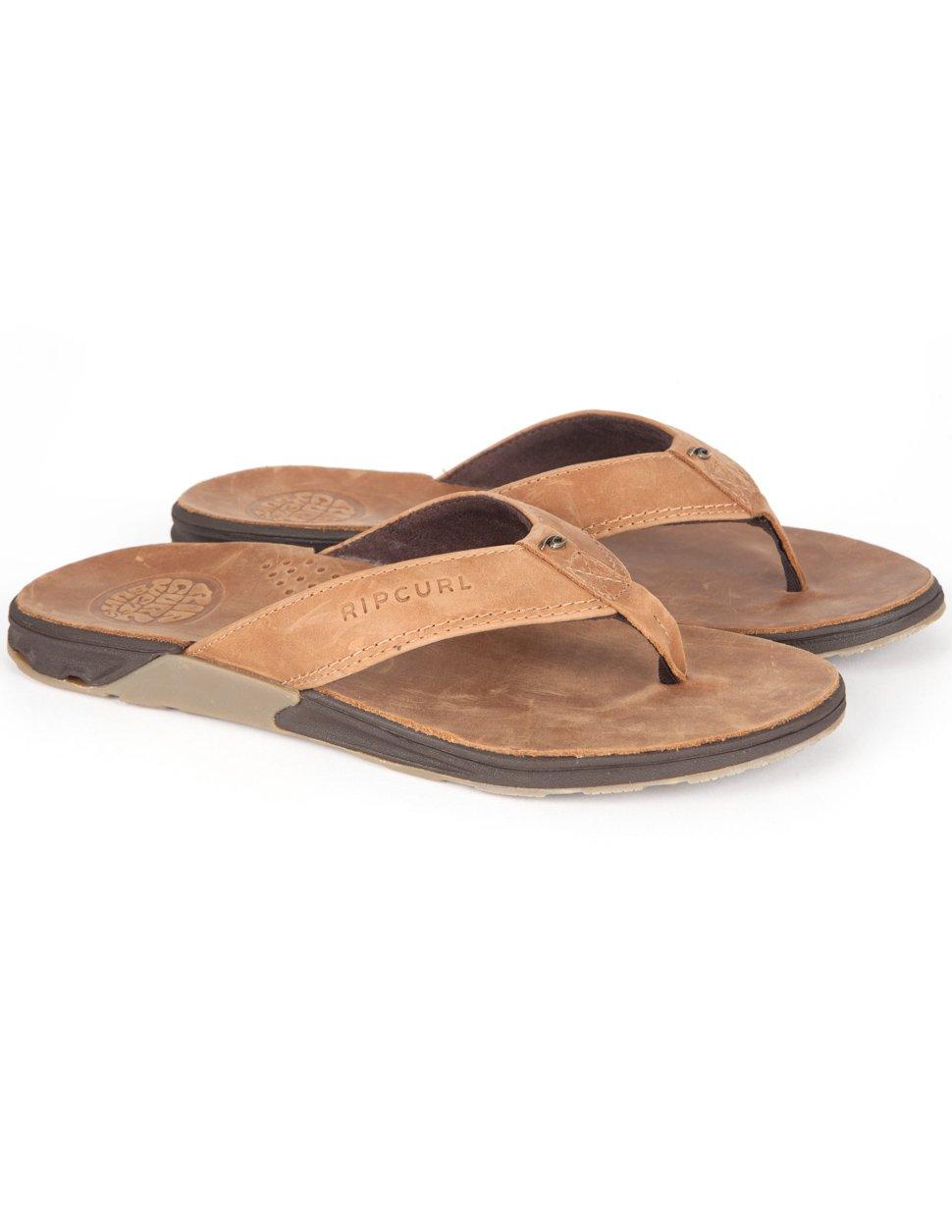 Rip Curl Ultimate Leather Sandal Tan